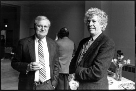 <p>John Ashbery y Kenneth Koch. </p>