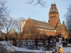 <p>El Memorial Hall de Harvard.</p>