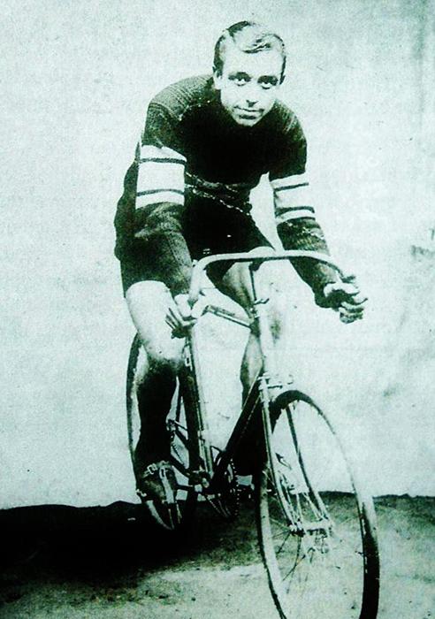 El ciclista Paul Deman.