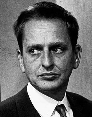 <p>El líder socialdemócrata sueco Olof Palme</p>