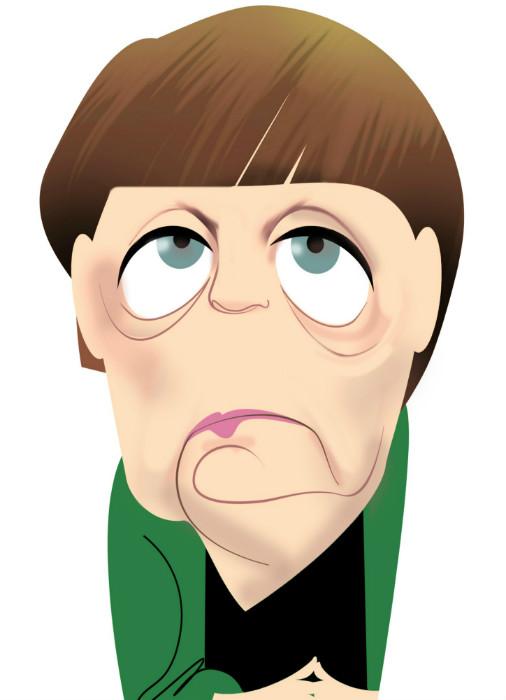 <p>Angela Merkel</p>