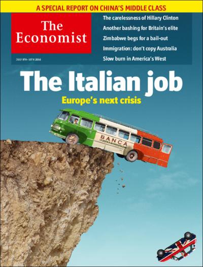 <p>Portada de 'The Economist'.</p>