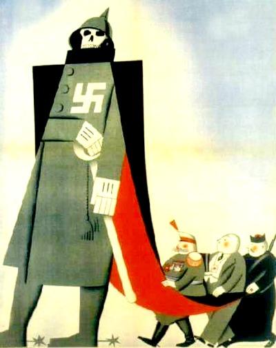<p>Cartel divulgado por el bando republicano durante la guerra civil española.</p>