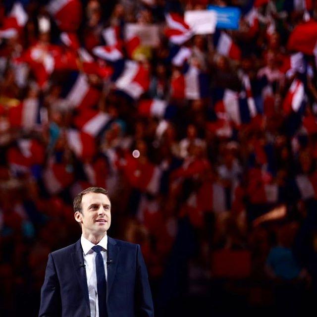 <p>Emmanuel Macron, en su mitin final de campaña enBercy (París) el pasado 17 de abril.</p>