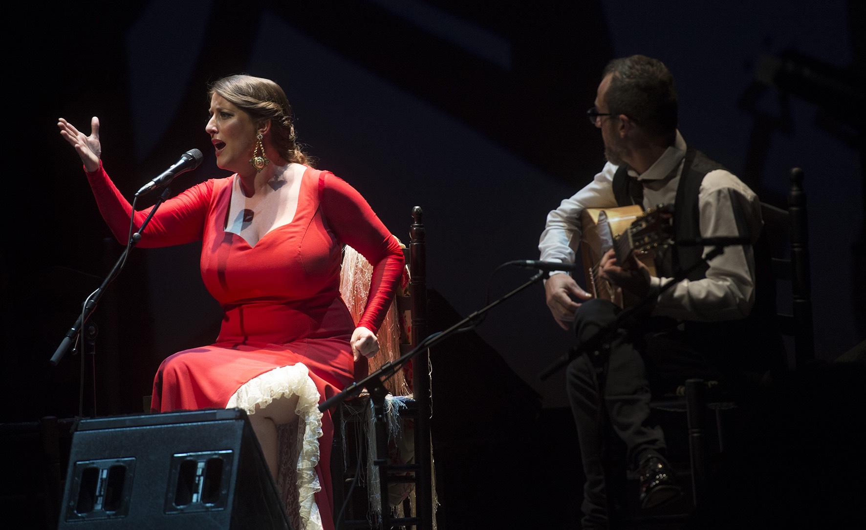 <p>La cantaora Argentina inauguró la Suma Flamenca 2017 en los Teatros del Canal.</p>