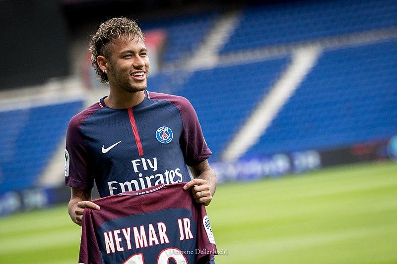 <p>Presentación de Neymar Jr. con el Paris Saint-Germain (PSG) el 4 de agosto de 2017.</p>