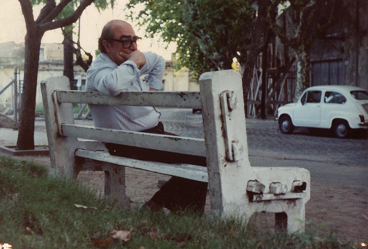<p>Mario Levrero en una imagen de archivo.</p>
