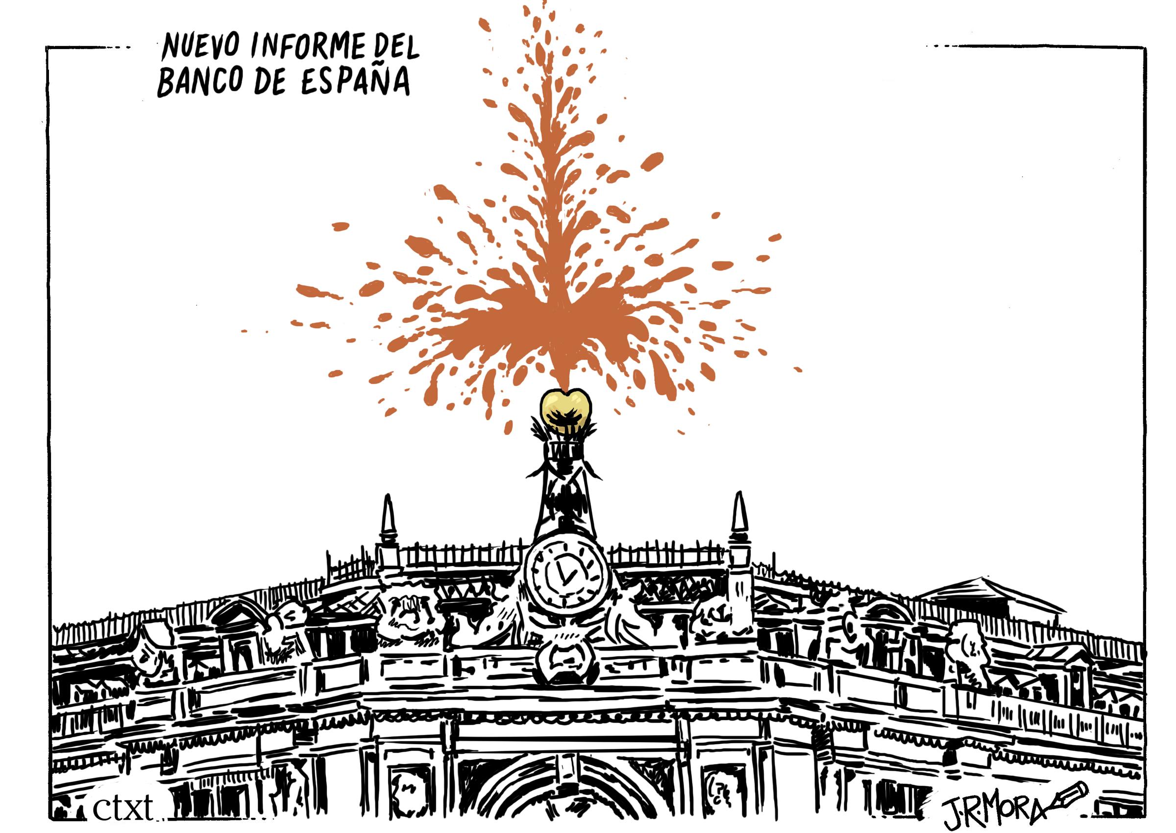 <p>Banco de España.</p>