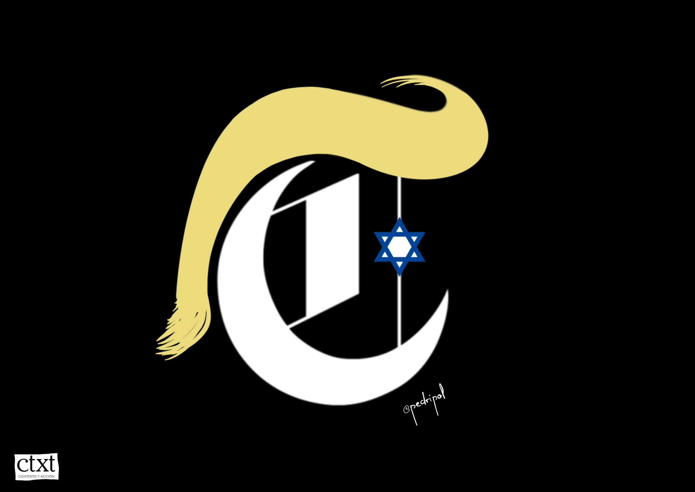 <p>NYT, censura, Trump, Israel</p>