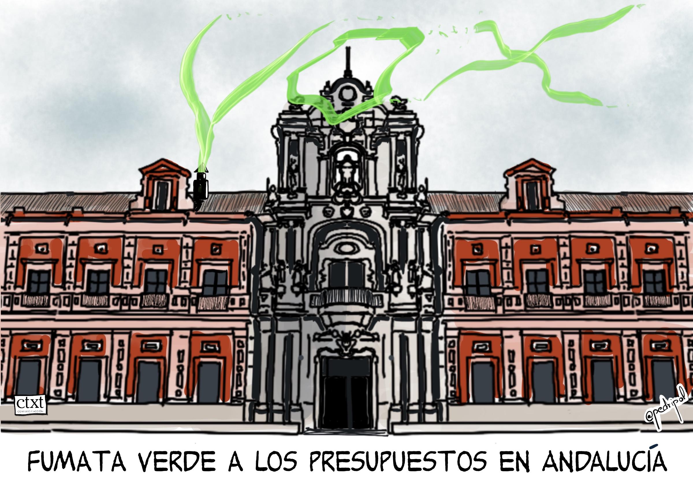 <p>Andalucía, extrema derecha, presupuestos</p>
