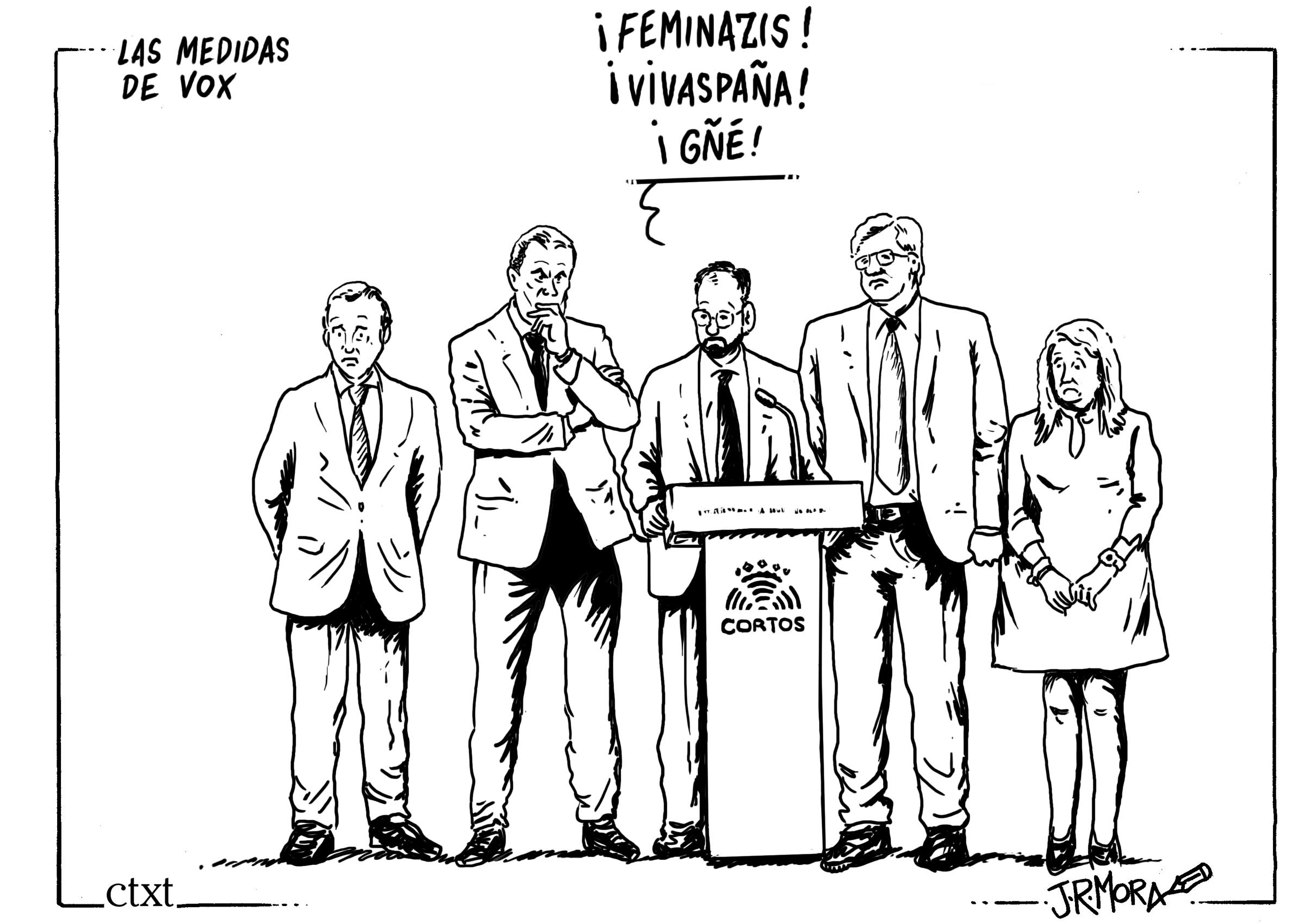 <p>Las medidas de Vox para Castilla y León.</p>