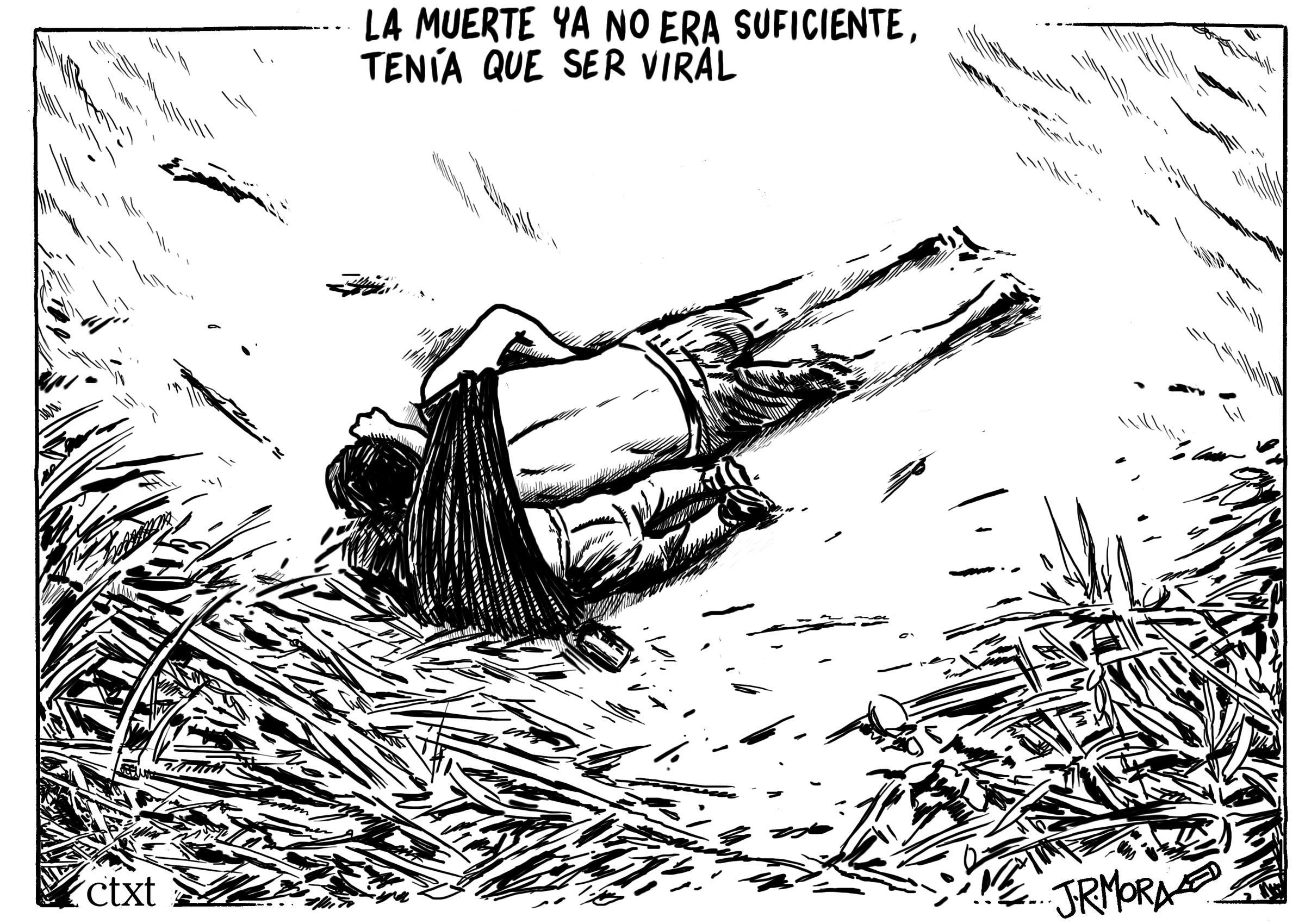 <p>Valeria y su padre, migrantes salvadoreños, muertos en el río Bravo.</p>