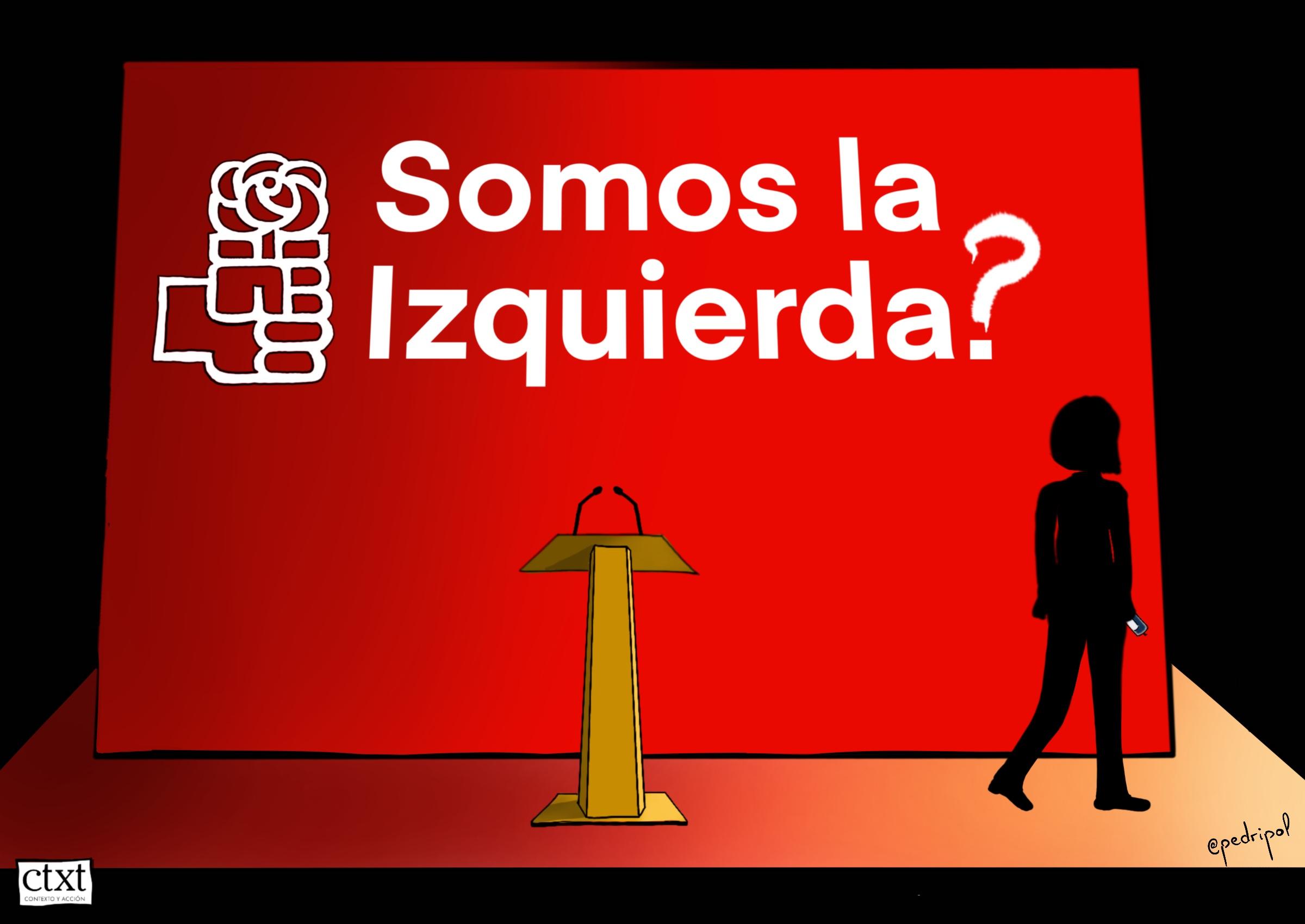 <p>PSOE, izquierda</p>