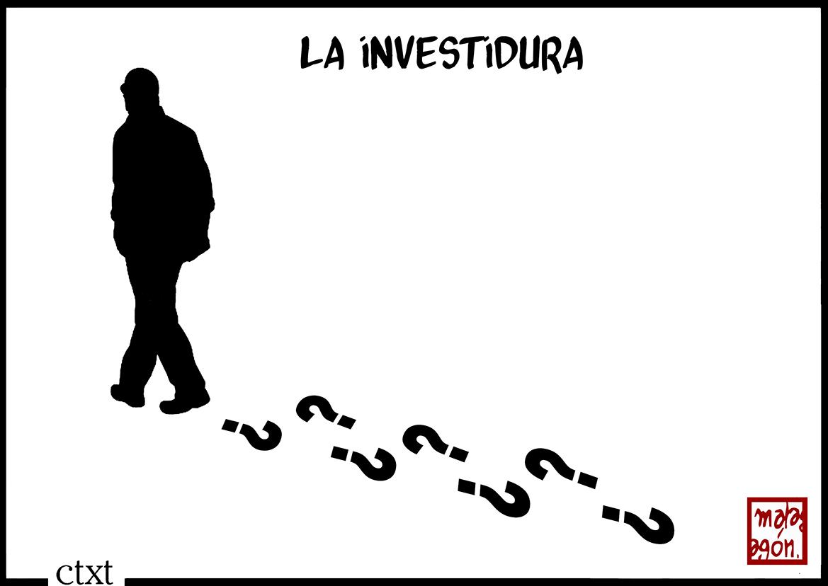 <p>La investidura.</p>