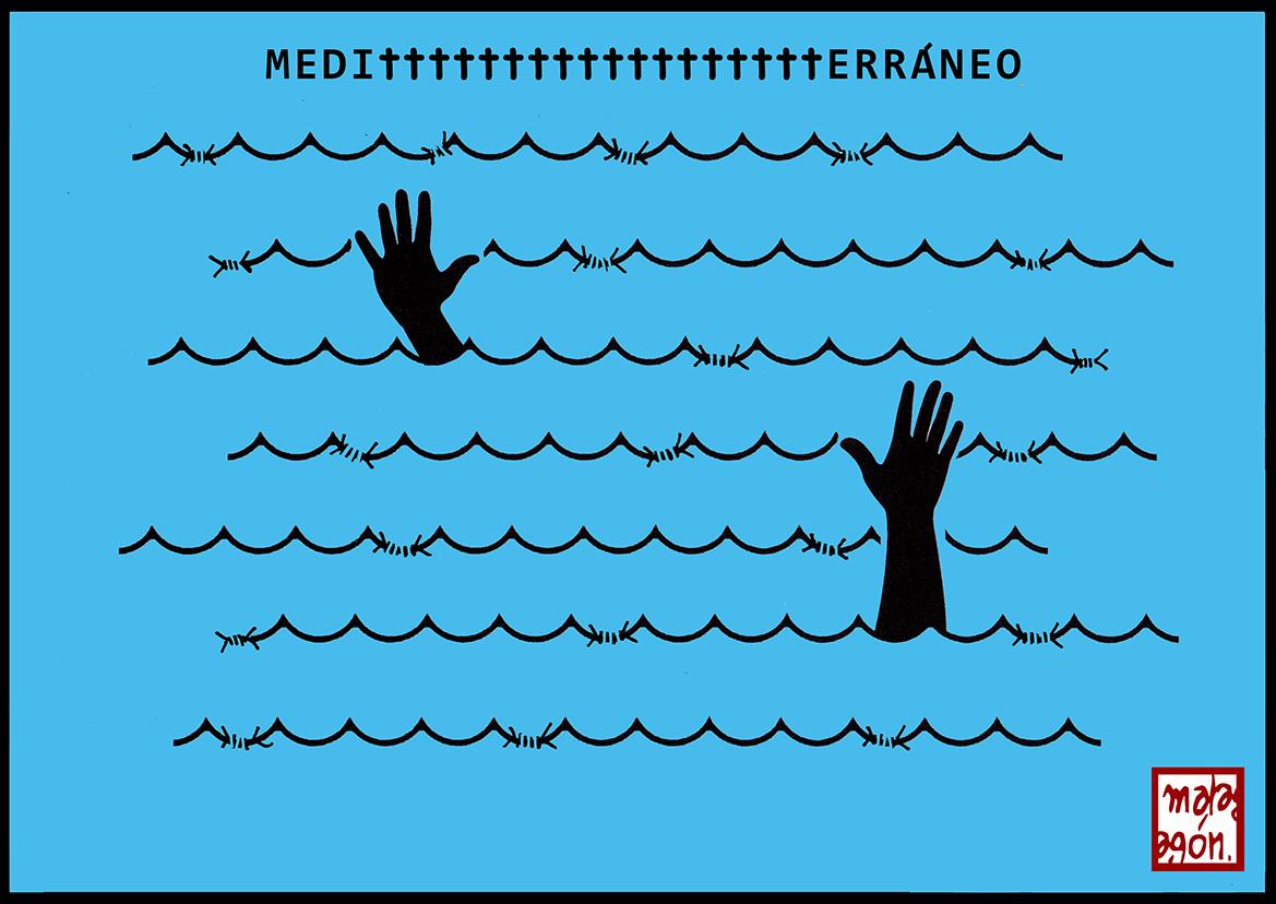 <p>Muerte en el Mediterráneo.</p>