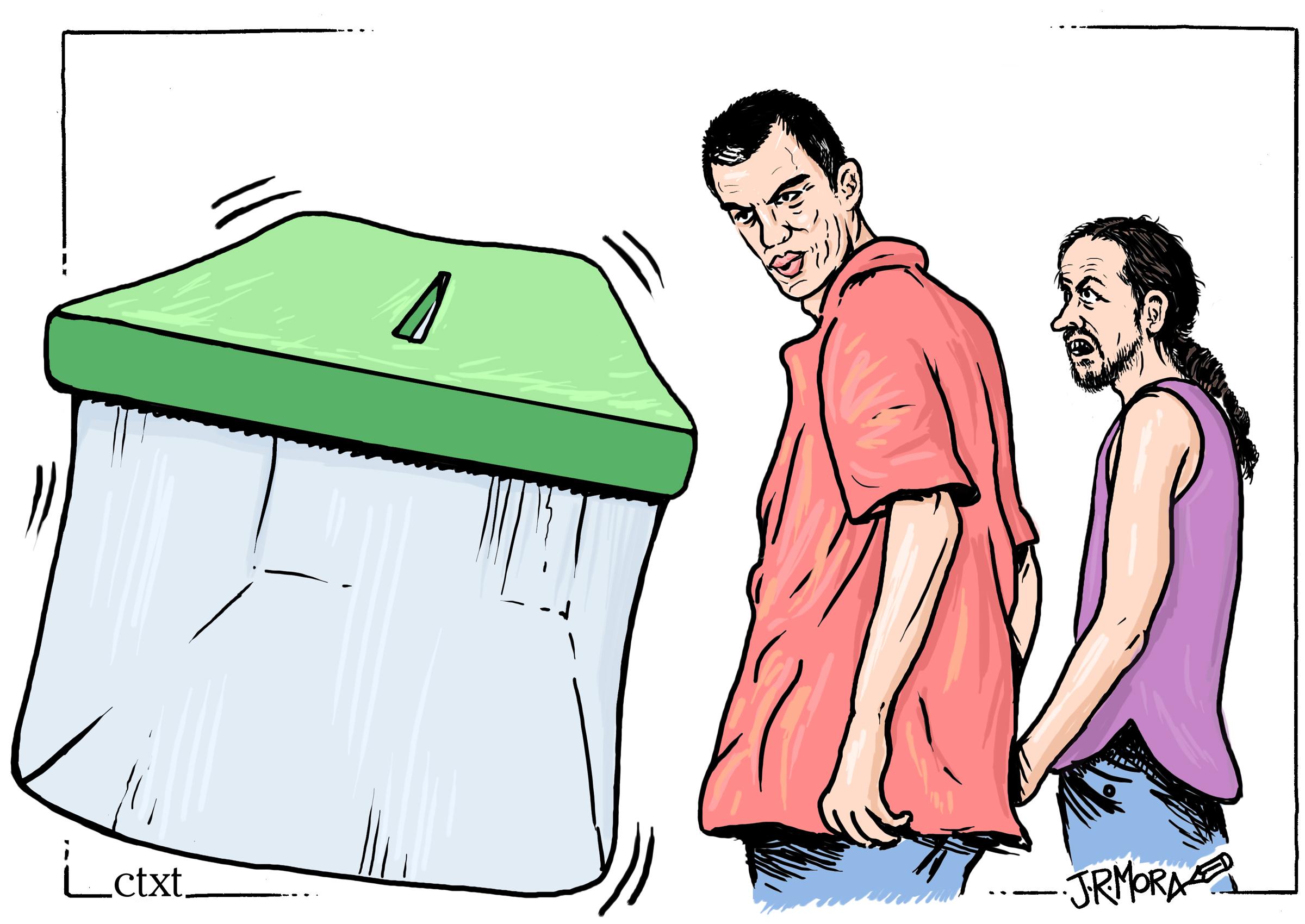 <p>La tentación electoral</p>