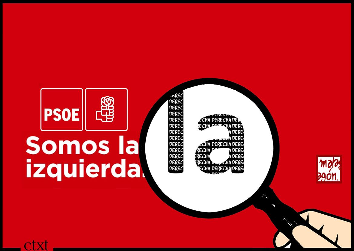 <p>PSOE. Somos la izquierda.</p>