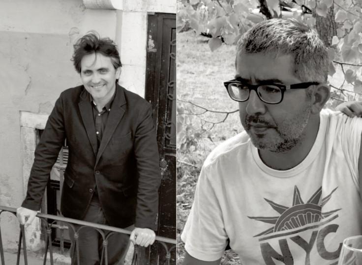 <p>Gonzalo Torné (esquerda) i Jordi Amat.</p>