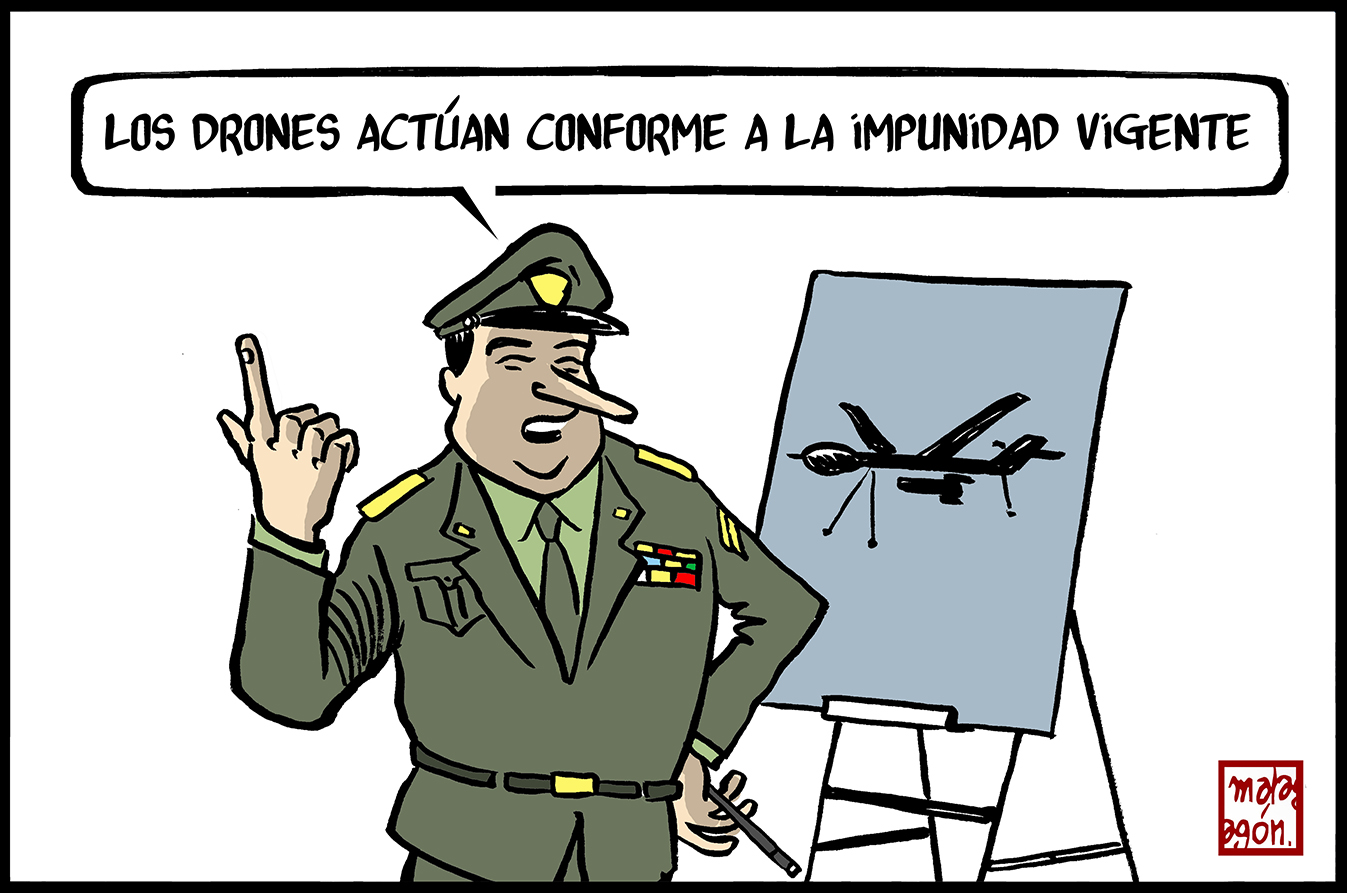 <p>Drones.</p>