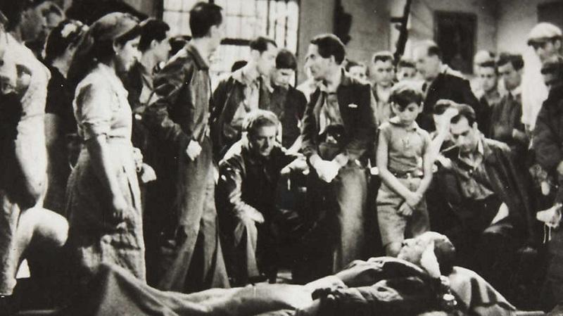 <p>Fotograma de la película <em>Sierra de Teruel</em>(André Malraux, 1939)</p>