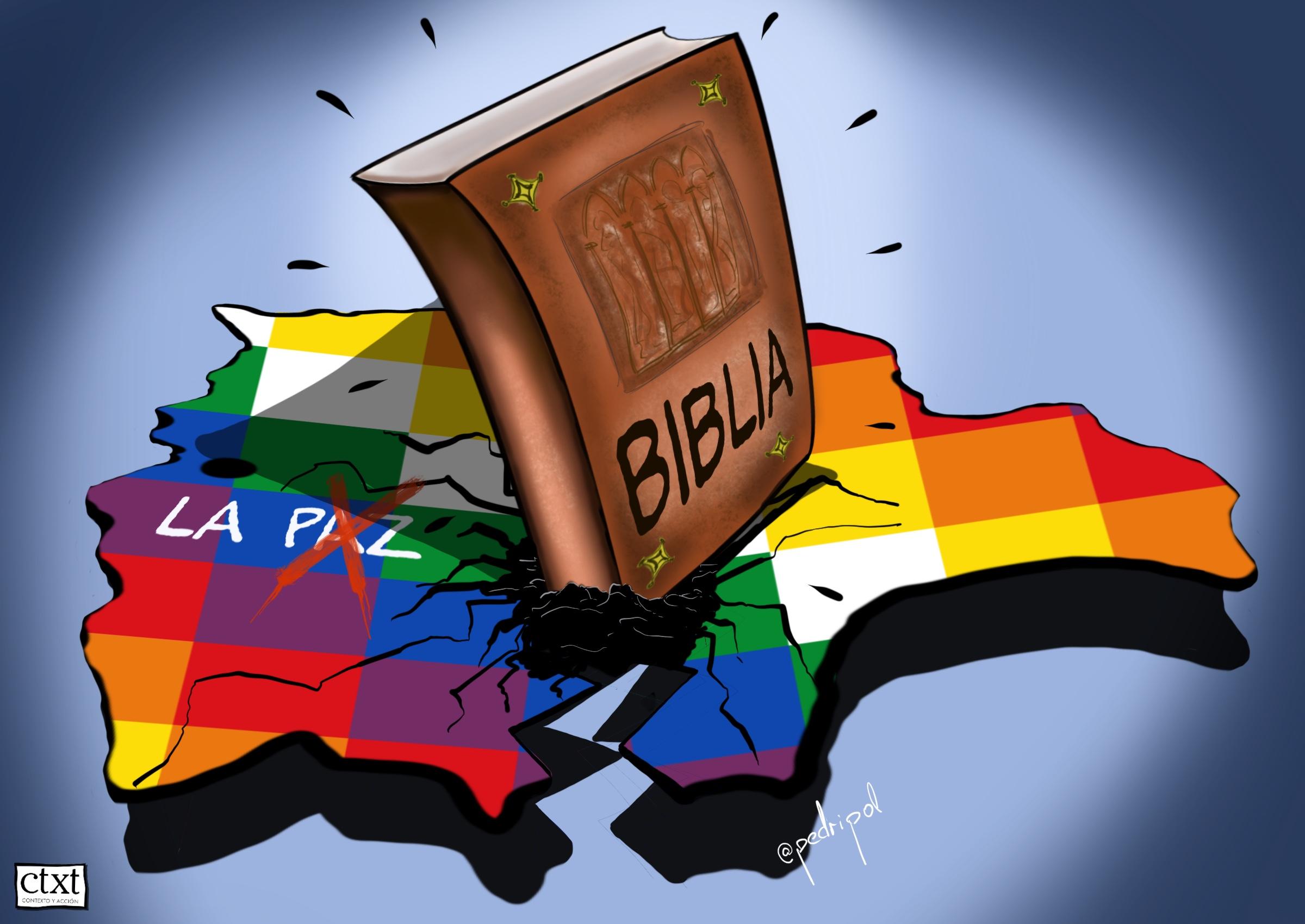 <p>Bolivia, Golpe de Estado, religión</p>