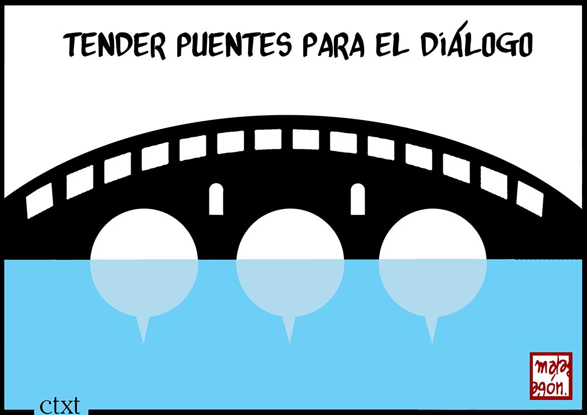 <p>Tender puentes para el diálogo.</p>