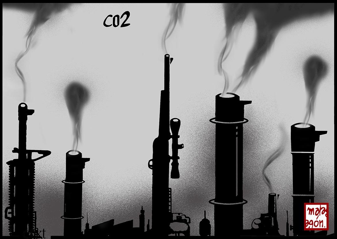 <p>CO2. Cambio climático.</p>