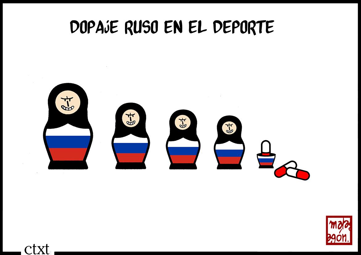 <p>Dopaje ruso.</p>