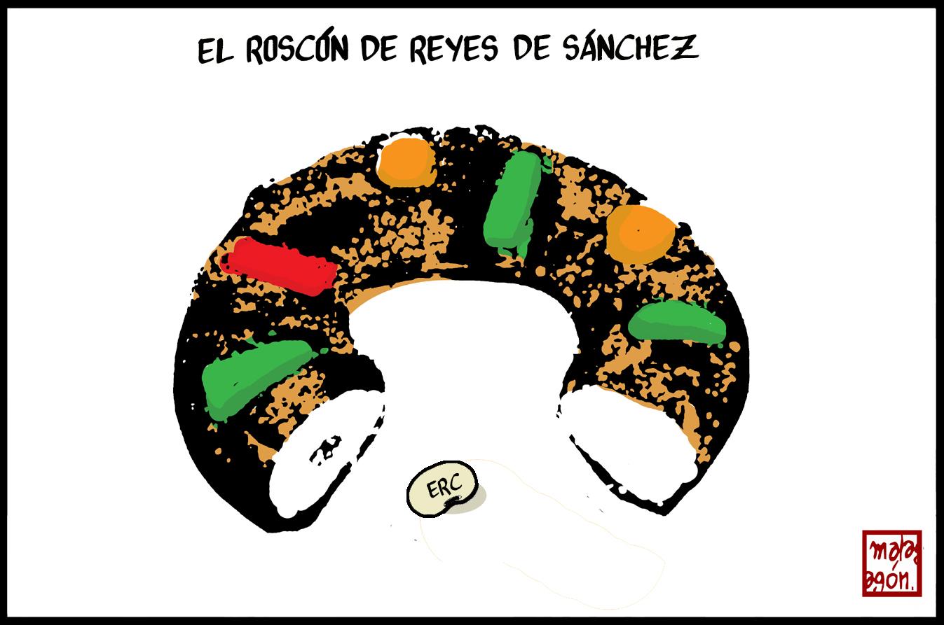 <p>Roscón de Reyes.</p>