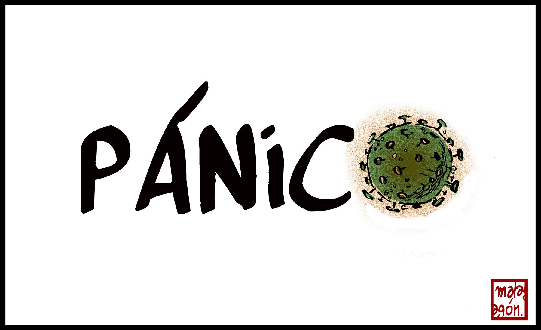 <p>Pánico</p>