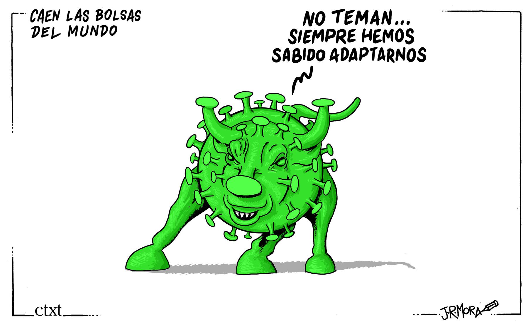 <p>Economía y coronavirus.</p>