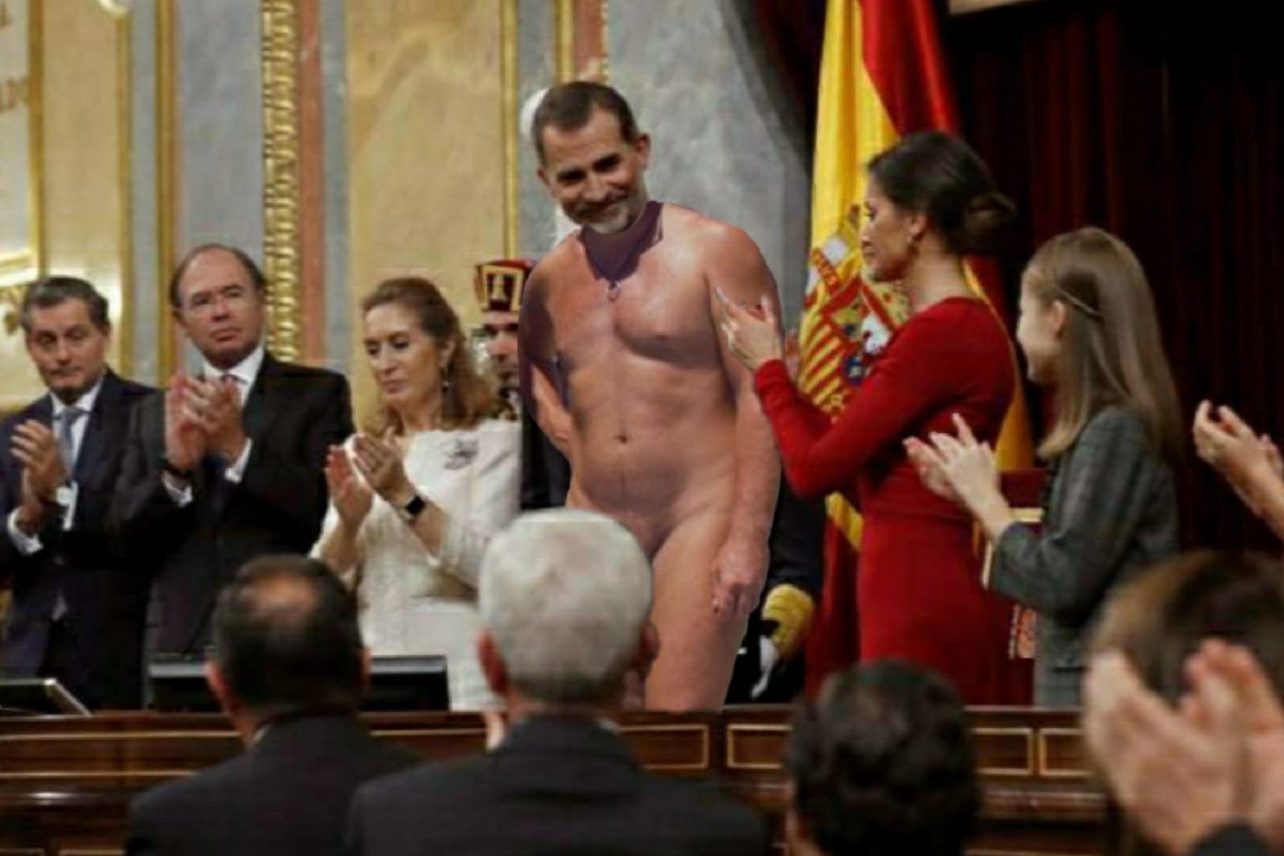 <p>El rey desnudo.</p>