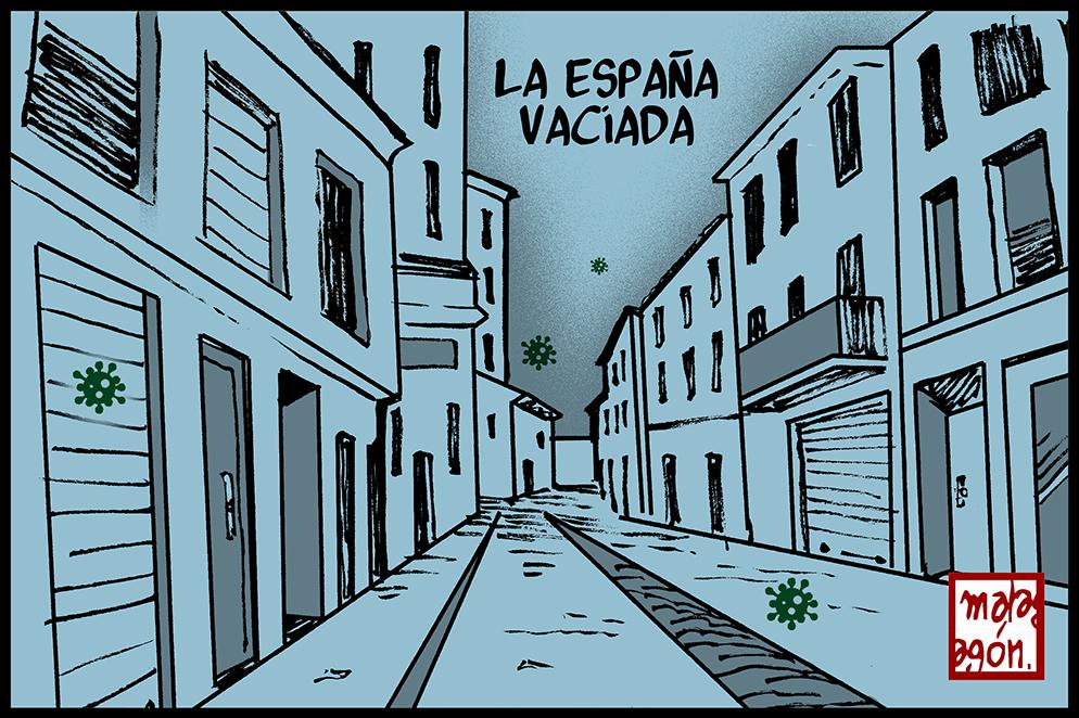 <p>La España vaciada.</p>