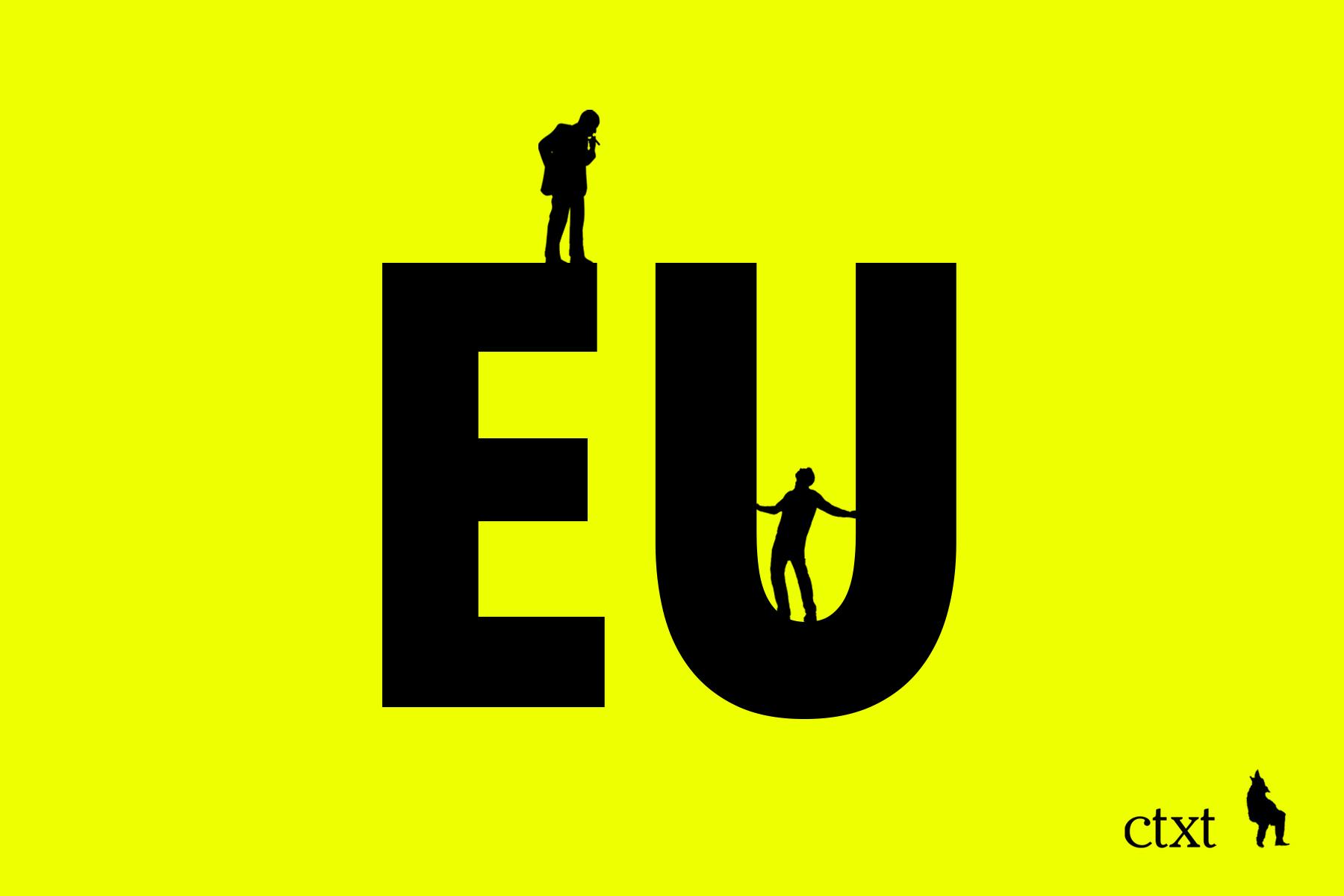 <p>Las dos Europas</p>