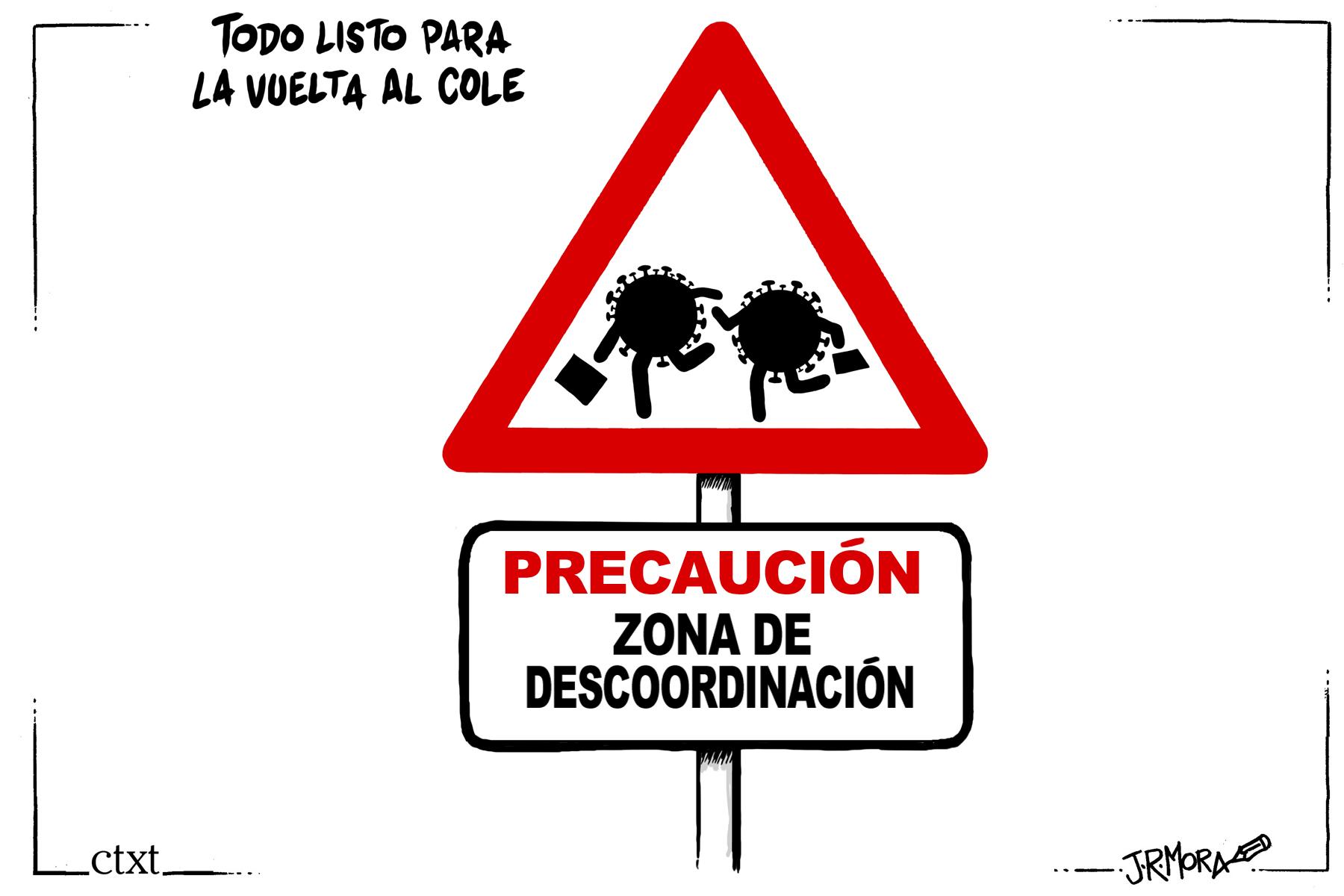 <p>Vuelta al cole.</p>