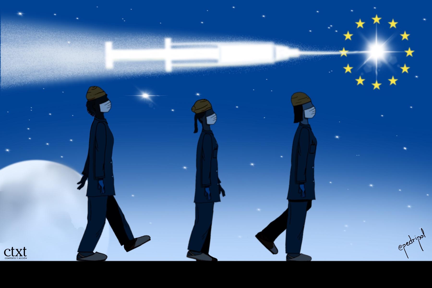 <p>UE, vacuna</p>