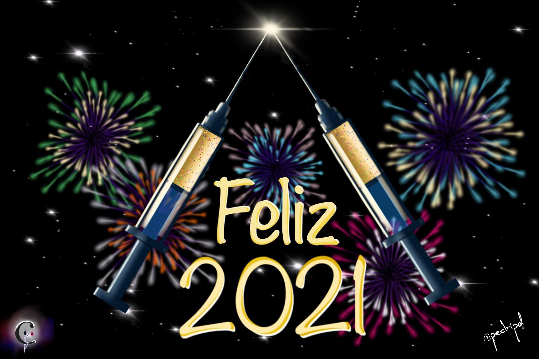 <p>Año nuevo, COVID19, vacuna</p>