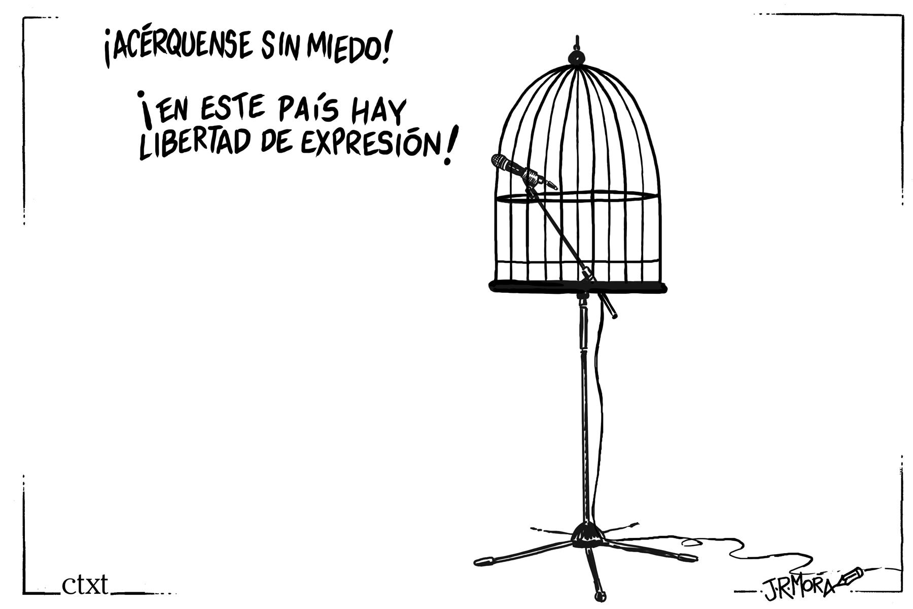 <p>Libertad de expresión.</p>