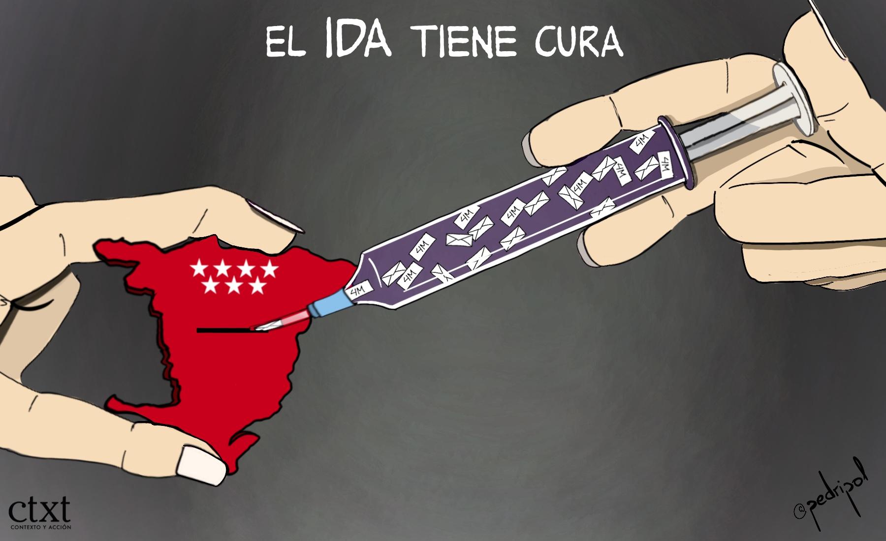 <p>Madrid, IDA, elecciones</p>