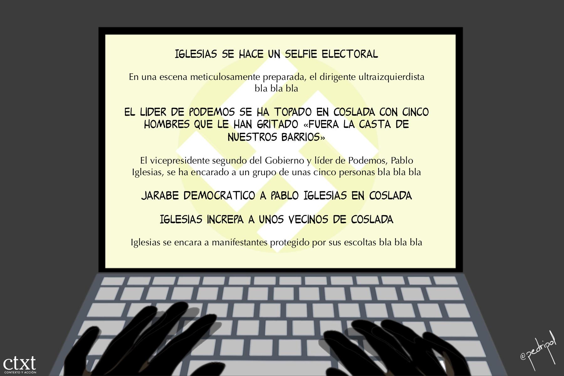 <p>Pablo Iglesias, Periodismo, fascismo</p>