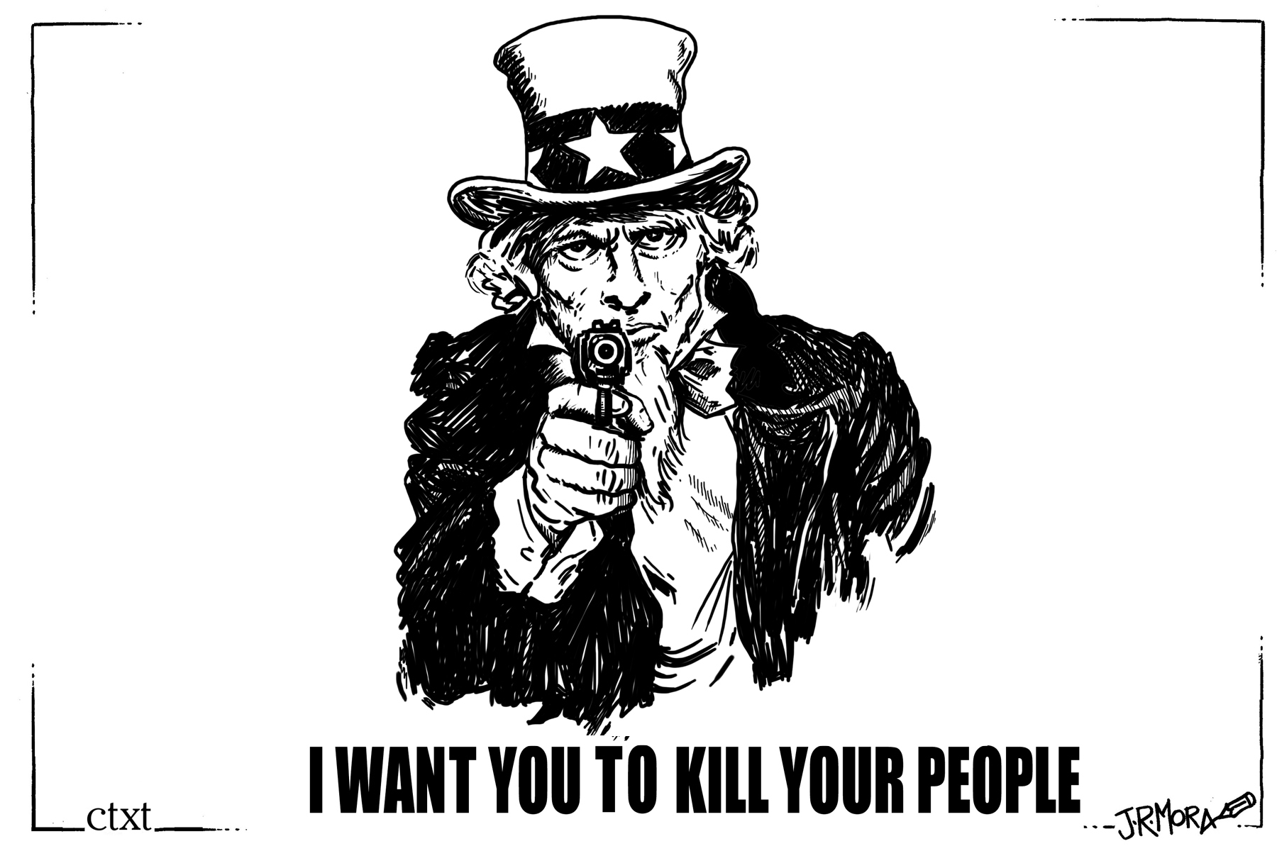 <p>I want you to kill your people.</p>