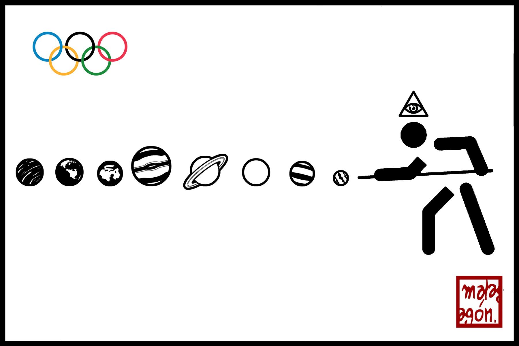 <p>Juegos Olímpicos, billar.</p>