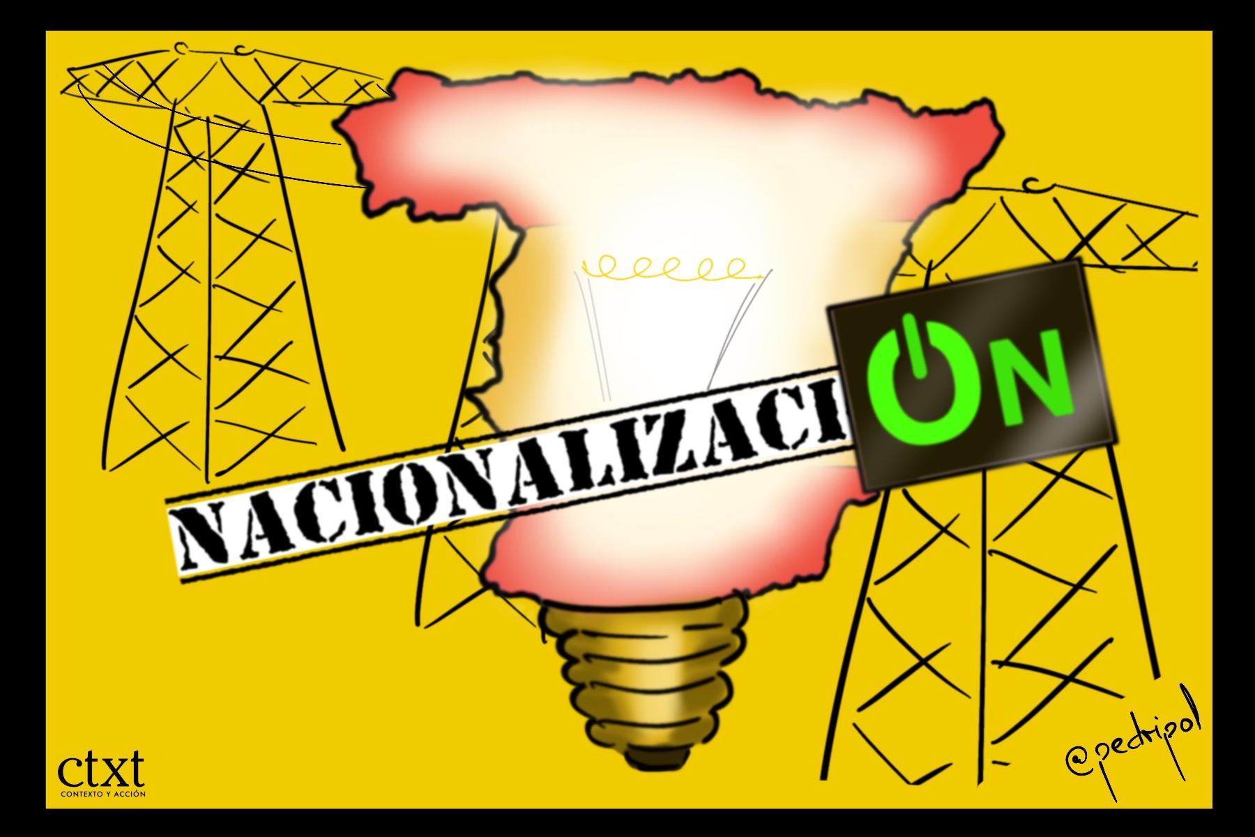<p>Nacionalización recursos básicos, oligopolio energético</p>