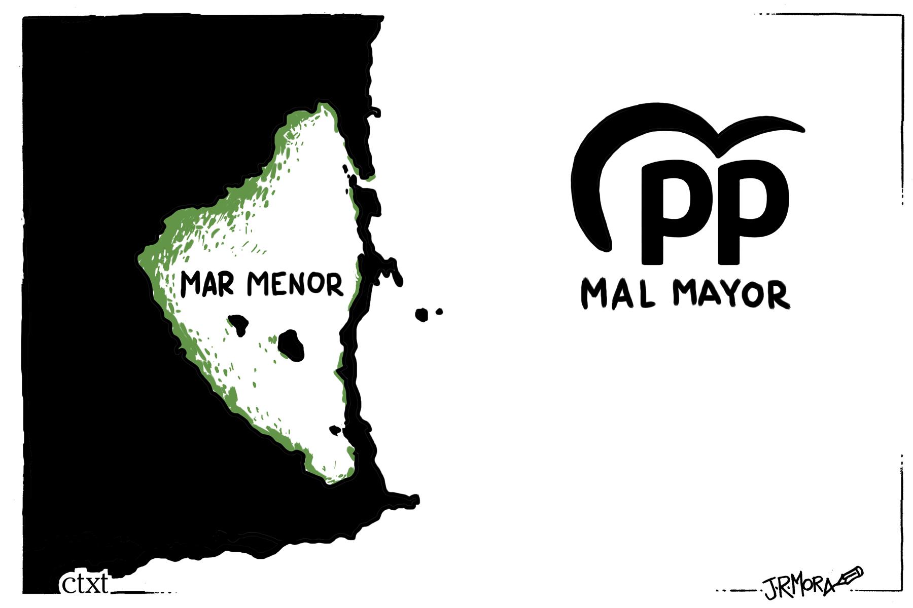 <p>Mar menor.</p>