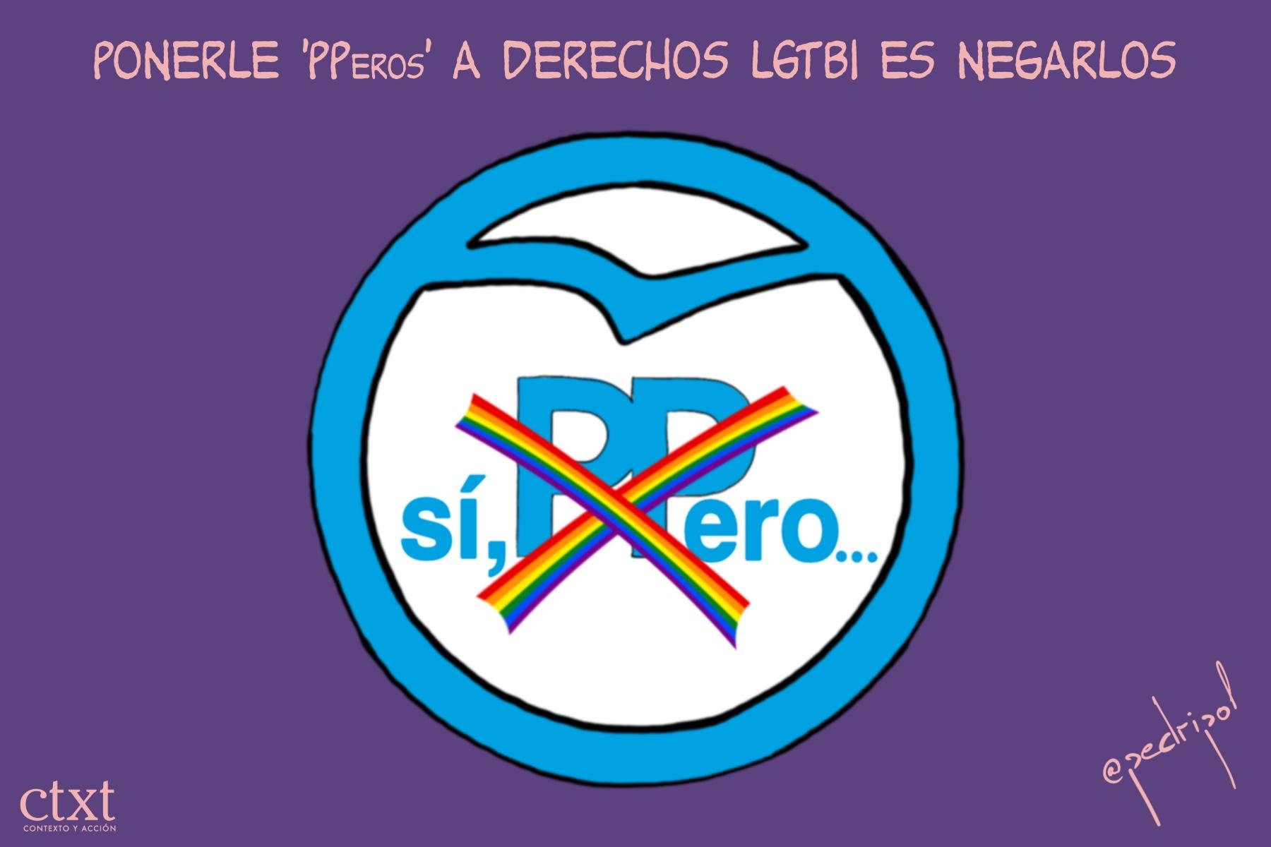<p>PP, UE, Derechos LGTBI</p>