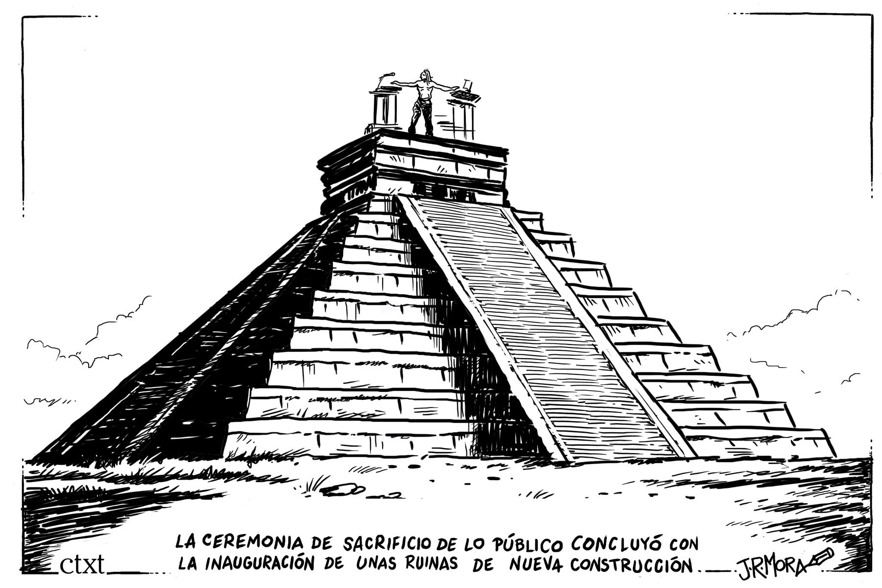 <p>El sacrificio.</p>